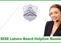 BISE Lahore Board Helpline Number