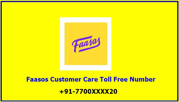 Faasos Customer Care Toll Free Number
