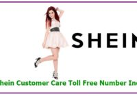Shein Customer Care Toll Free Number India