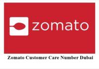 Zomato Customer Care Number Dubai