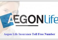 Aegon Life Insurance Toll Free Number