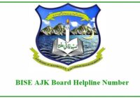 BISE AJK Board Helpline Number