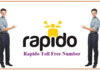 Rapido Toll Free Number