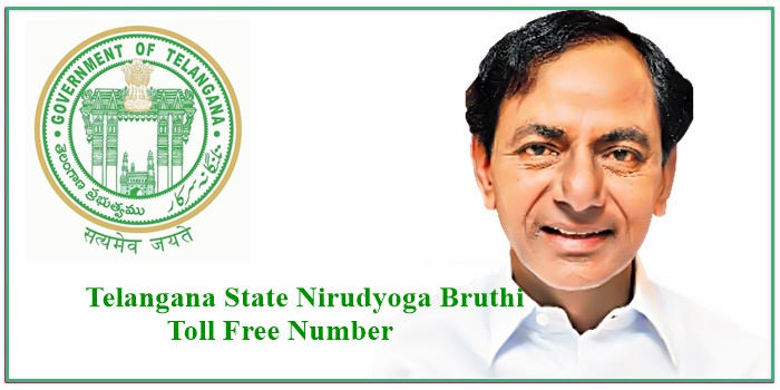 Telangana State Nirudyoga Bruthi Toll Free Number