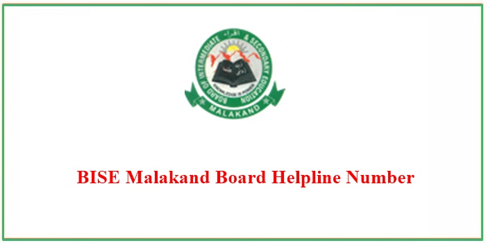 BISE Malakand Board Helpline Number