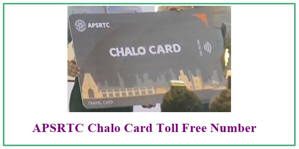 APSRTC Chalo Card Customer Care Number