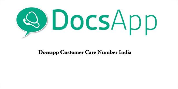 Docsapp Customer Care Number India