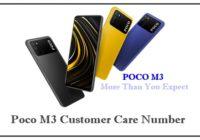 poco m3 customer care number