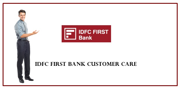 idfc first bank toll free number