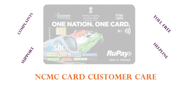 NCMC Card Customer Care Number Delhi