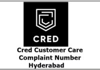 cred customer care complaint number Hyderabad