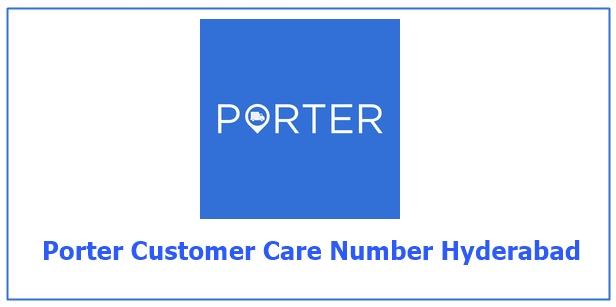 porter customer care number Hyderabad