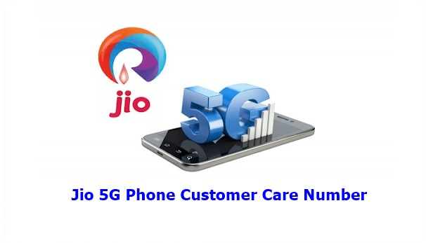 jio 5g toll free number