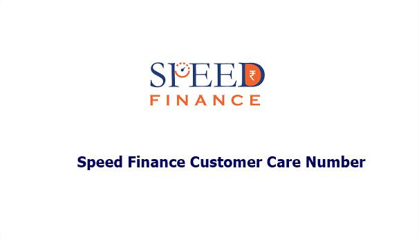 speed finance customer care number