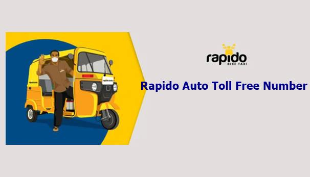 Rapido Auto Toll Free Number